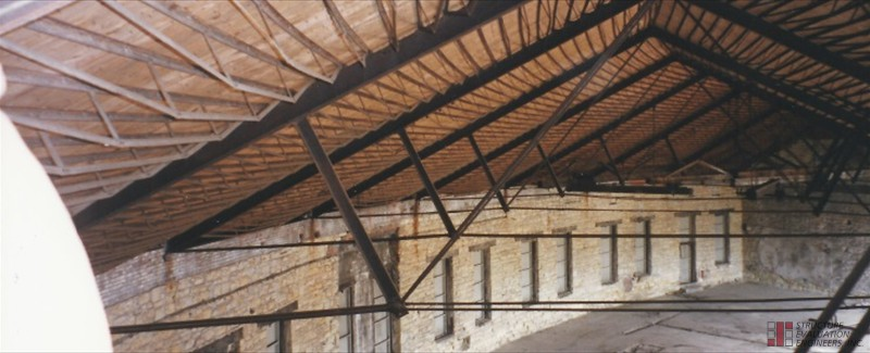 Existing Roof Trusses